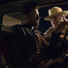 Preacher: Dominic Cooper e W. Earl Brown in una scena