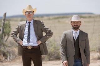 Preacher: Anatol Yusef e Tom Brooke in una scena