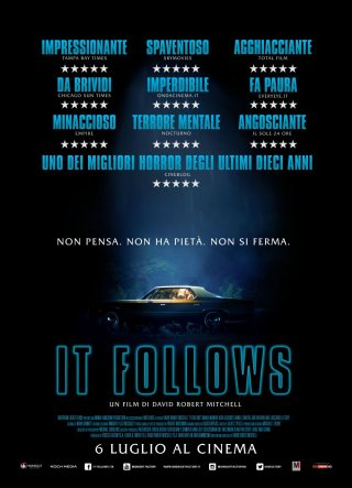 It Follows: locandina italiana del film