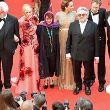 Festival di Cannes 2016: la giuria sul red carpet