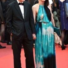 Festival di Cannes 2016: Woody Allen e la moglie posano sul red carpet
