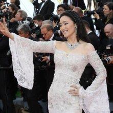 Festival di Cannes 2016: Gong Li posa sul red carpet