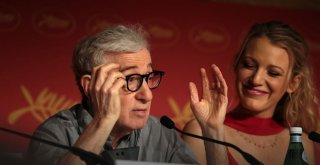 Cafe Society: Woody Allen e Blake Lively in conferenza stampa