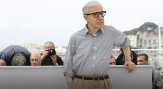 Cafe Society: Woody Allen al photocall di Cannes 2016