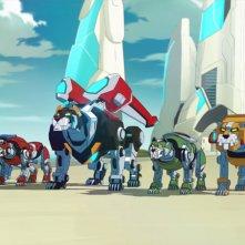 Voltron: Legendary Defender - Un'immagine della serie animata