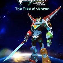Voltron: Legendary Defender - Il poster della serie