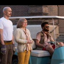 Zeroville: James Franco, Jacki Weaver e Seth Rogen in una scena