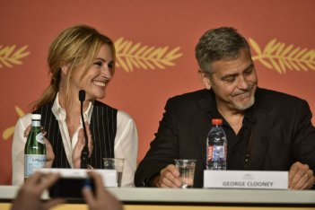 Money Monster: Heroge Clooney e Julia Roberts durante la conferenza