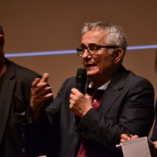 Cannes 2016: Marco Bellocchio durante la conferenza di Fai bei sogni