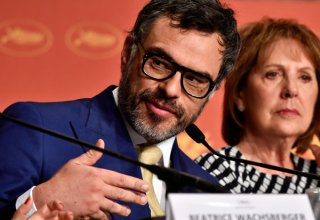 The BFG: Jemain Clement durante la conferenza stampa a Cannes 2016