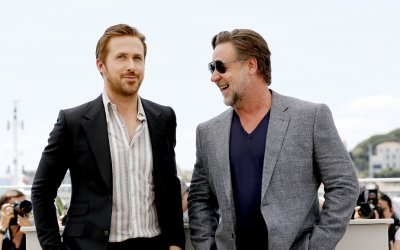 """Ryan Gosling e Russell Crowe: due """"Nice Guys"""" sulla Croisette"""