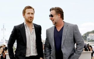 The Nice Guys: Russell Crowe insieme a Ryan Gosling nel photocall a Cannes 2016