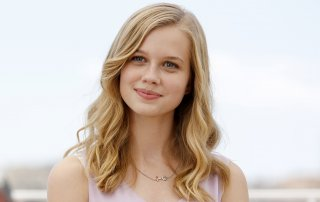 The Nice Guys: Angourie Rice in un momento del photocall