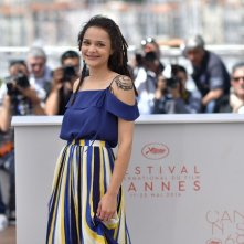 American Honey: Sasha Lane durante il photocall a Cannes 2016