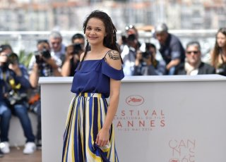 American Honey: Sasha Lane durante il photocall a Cannes 2016