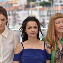 American Honey: Andrea Arnold, Sasha Lane e Riley Keough durante il photocall