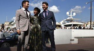 Loving: Joel Edgerton, Ruth Negga e il regista Jeff Nichols a Cannes