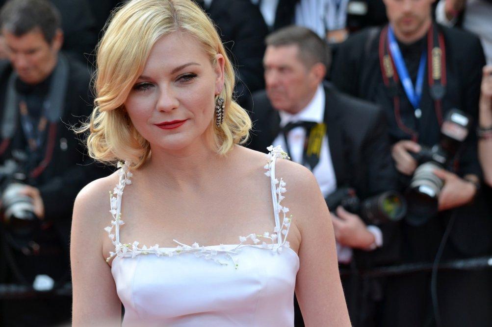 Cannes 2016: uno scatto di Kirsten Dunst sul red carpet di Loving