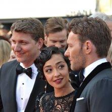 Cannes 2016:  Joel Edgerton, Ruth Negga e Jeff Nichols in uno scatto sul red carpet di Loving