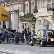 Kingsman: The Golden Circle - Un'immagine dal set di Londra