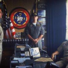 Tom Cruise in una scena del film Top Gun