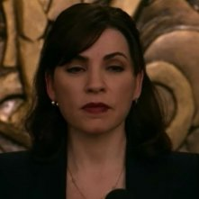 The Good Wife: Julianna Margulies in una scena dell'episodio Gioco al massacro