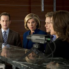 The Good Wife: un momento dell'episodio Squadra rossa, squadra blu