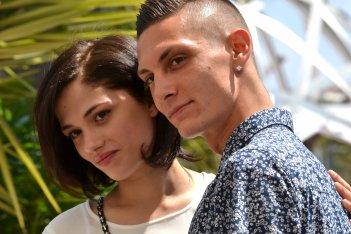Cannes 2016: Daphne Scoccia e Josciua Algeri al photocall di Fiore