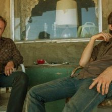 Hell or High Water, Chris Pine e Ben Foster in una immagine del film