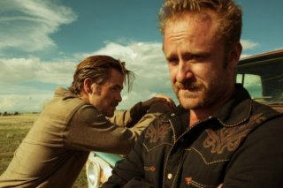 Hell or High Water, Chris Pine e Ben Foster in una scena del film