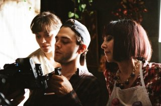 Xavier Dolan sul set di It's Only the End of the World con Marion Cotillard