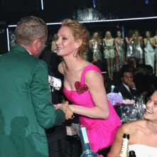 Cannes 2016 - il famigerato bacio tra Uma Thurman e Lapo Elkann