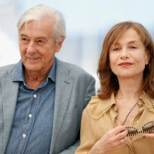 Elle: Isabelle Huppert e Paul Verhoeven durante il photocall