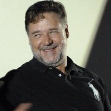 The Nice Guys: un sorridente Russell Crowe alla conferenza stampa