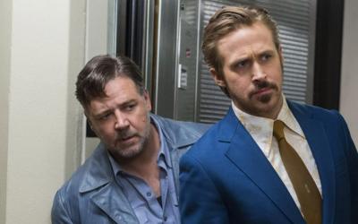 "The Nice Guys: i ""bravi ragazzi"" Ryan Gosling e Russell Crowe presentano il loro ironico noir"