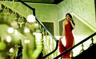 Gomorra 2 - Alessandra Langella è Nina nella scena del compleanno di Conte
