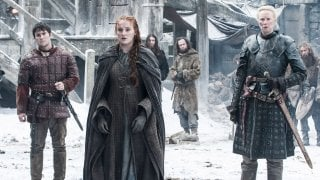 Il trono di spade: Podrick, Sansa e Brienne in Book of the Stranger