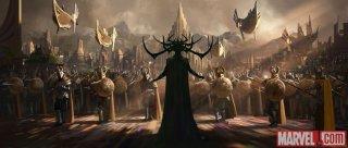 Thor: Ragnarok - Il primo concept art svela il look di Hela