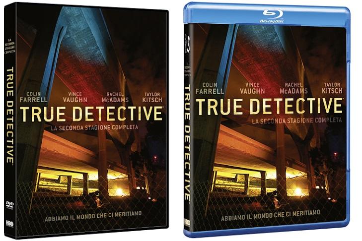 Le cover homevideo di True Detective - Stagione 2