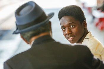 Pelé: Kevin De Paula in un momento del film