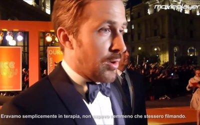 The Nice Guys: Russell Crowe, Ryan Gosling sul red carpet.