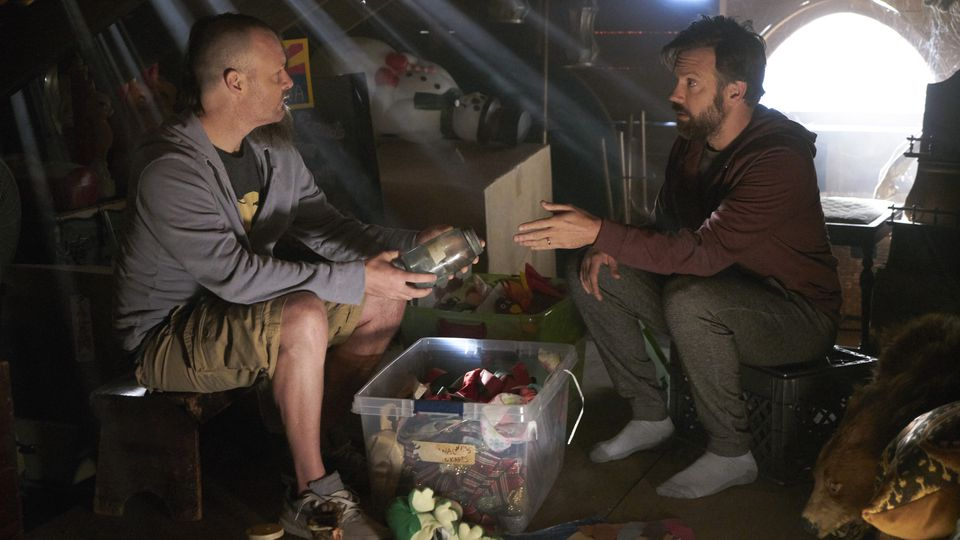 The Last Man on Earth: Will Forte e Jason Sudeikis nella puntata 30 Years of Science Down the Tubes