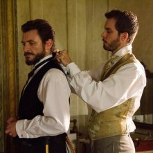 Stella cadente: Lorenzo Balducci e Alex Brendemühl in una scena del film
