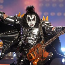 Kiss Rocks Vegas: un'immagine del documentario musicale