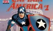 Captain America, finale shock per il primo numero del fumetto