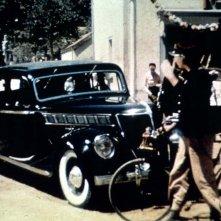 Giorno di festa: una scena del film di e con Jacques Tati
