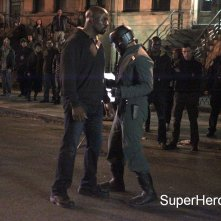 Luke Cage: Mike Colter ed Erik LaRay Harvey sul set