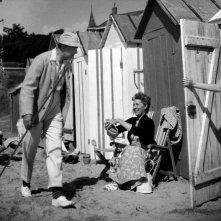 Le vacanze di monsieur Hulot: Jacques Tati in un'immagine del suo film