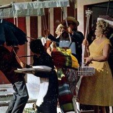 Mio zio: un'immagine del film di e con Jacques Tati
