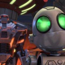 Ratchet & Clank - Il film: una scena del film d'animazione